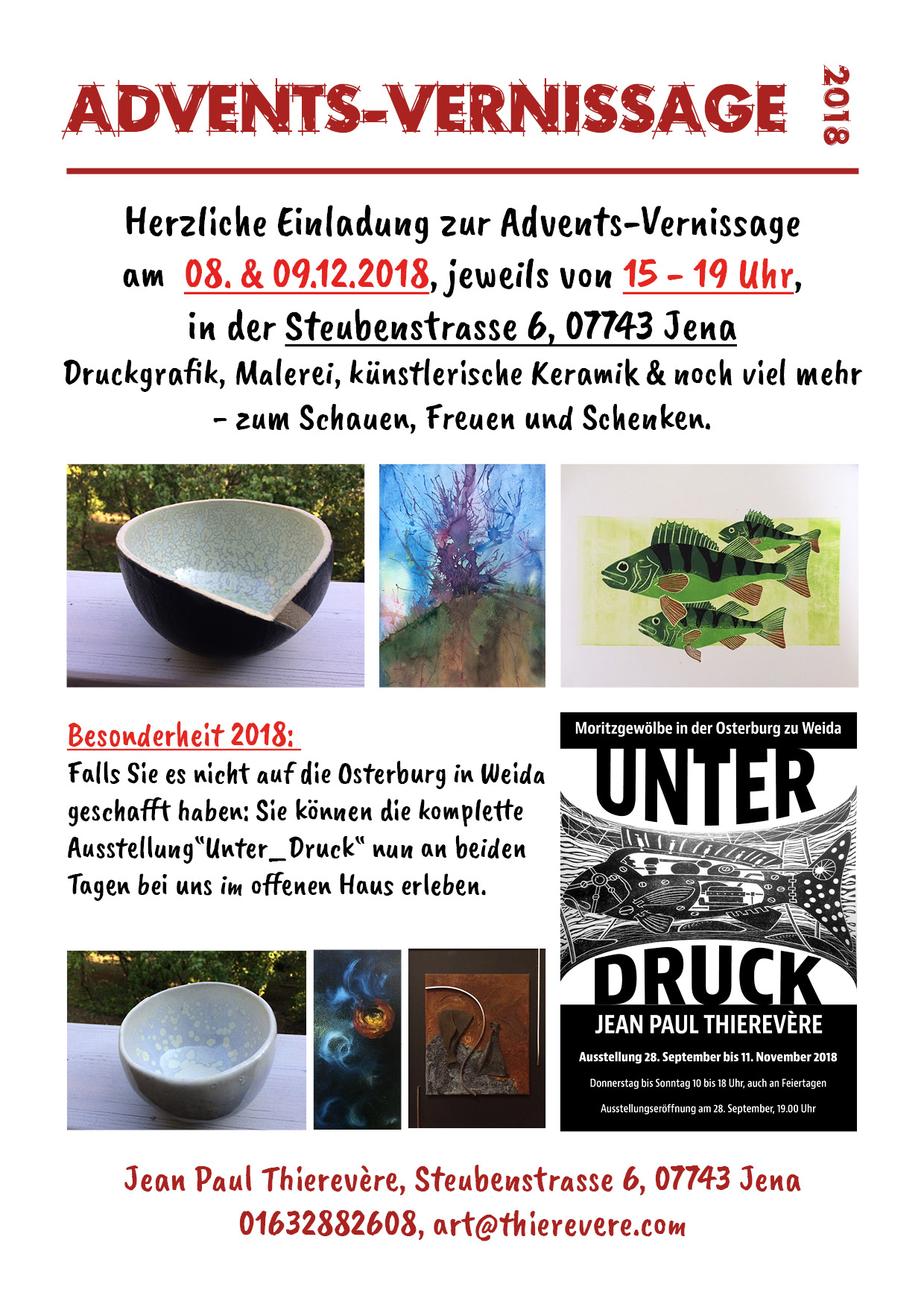 Advents-Vernissage